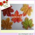 Hot vente décoratifs. usine de tissu de soie makple artificiels, automne feuilles d'érable