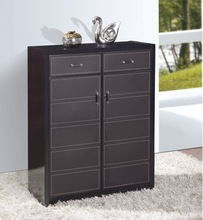 LM furniture Modern shoe cabinet with leather door(661)
