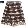 Gros fournisseur de la chine brodé conception organza tissu paillettes broderie dentelle perlée tissu pour longue satin robe du soir