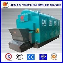 Excellent 3 pass coal /wood/biomass industry steam turbine-generators with boiler