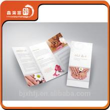 factory price high quality sample catalog design