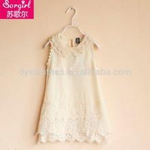 high quality polyester print spanish dresses for girls
