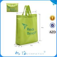 2015 new design eco nylon/polyester foldable shopping tote bag