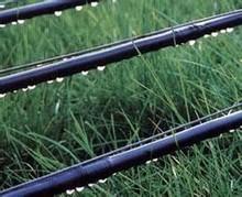 de alta eficiencia de goteo de la tubería de riego línea de equipos