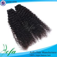 Mongolian afro deep curly human hair wigs for black women