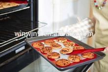bpa free silicone fiberglass artisan (2 pk.) non-stick silicone baking mat