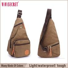 vivisecret men's vintage washed canvas messenger bags