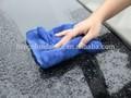 toalla de microfibra para la limpieza del coche