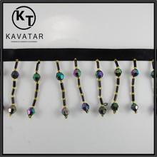Lastest Fashion beads fringe