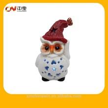 Encargo búho de cerámica para la decoración del hogar