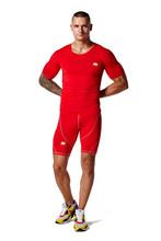 China custom oem mens Bodybuilding tights compression shirts