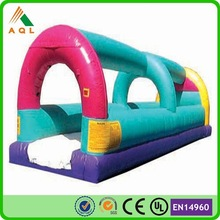 2015 flat tarpauline inflatable slip and slide for sale