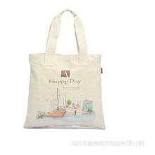 Eco-Friendly Foldable Canvas Bag , Organic Cotton Tote Bags Wholesale