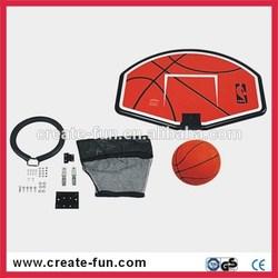 Createfun brand professional factory 2015 hot sale Basketball hoop kit for trampolines