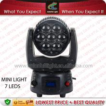 Sound Active, Master / Slave,DMX LED MINI Moving Head Spot
