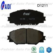 China brake pads factory car parts hi-q D1211 brake Pad for toyota automobiles