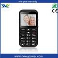 Mais novo W82 Widescreen senoir telefone sos big numbers telefones celulares