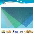 de color duro de policarbonato hoja de plástico