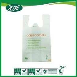 wholesale promotional custom biodegradable 20 micron plastic bag