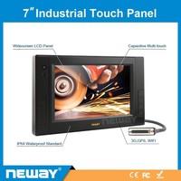 7 inch OEM DC24V rugged 3G windows tablet