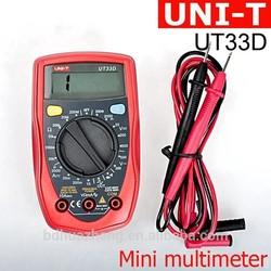 UNI-T UT33 Series Digital LCD Palm-Size Handheld Digital Multimeter