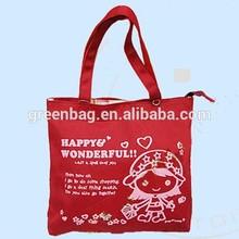 Cheap promotional cotton bag for shopping , Cotton Baguette Bag