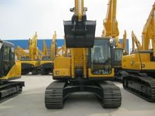 ZOT 17 ton hydraulic crawler excavator with cummins engine