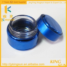 High Quality Double Deck Aluminum Glass Cream Container