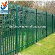 2015 Hot sale Garden Metal Palisade outdoor security fence