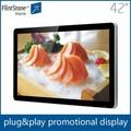 ticari iç led ekran reklam dijital lcd 42 inç duvar ekranları