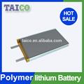Recargable de li- polímero de la batería 3.7v 1400 mah banco de potencia