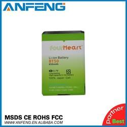 Cell phone accessories wholesale MOTO BT50 phone battery for Motorola C118 C160 C193 C290 C975 C980
