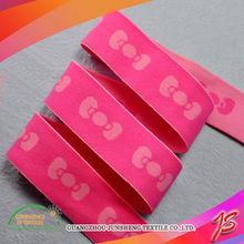 Guangzhou top sale 10mm black elastic satin
