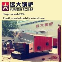 Water tube double drum industrial steam bagasse boiler 2ton-20ton
