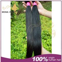 virgin russia hair 100% human hair 7a natural russian hair