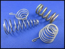 Zinc-plating carbon steel office equipment conical springs