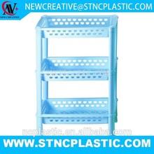 3 tier plastic bathroom sink shelf
