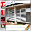 sıcak satış darbeye dayanıklı alüminyum açılabilir panjur pencere kepenkleri as2047