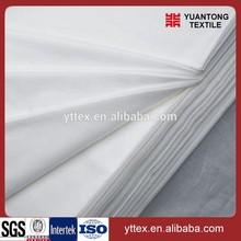 "telas, polyester, 90/10 45x45 110x76 57/60"", poplin white 100%polyester"