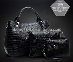 2015 new pu leather lady purse