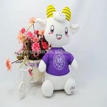 2015 new year toy plush mascot goat / OEM stuffed baby lamb toy