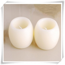 "2015 New Products 5"" White Round Ball LED Candle"