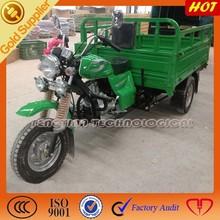 Heavy duty gas motor 3 wheel cargo truck for sale