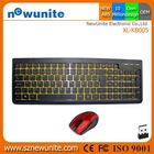 Most competitive 2.4 ghz mini wireless keyboard mouse