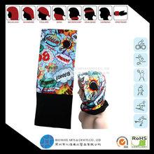Digital printing seamless headwear and fleece fabric