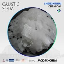 Sodium Hydroxide Flakes 99%;96%;98% NaOH Flakes 99%/Caustic Soda Flakes 99%