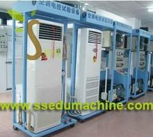 Cabinet type air conditioner skill training equipment Teaching Equipment Education Training Equipment Mechatronics Training