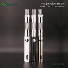 greensound ego vape pen vapor starter kit 5pin micro usb battery e cig free sample free shipping PTS01