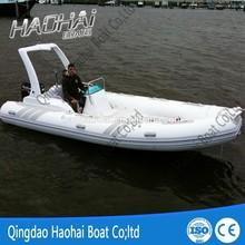 RIB580B 19ft 5.8m fiberglass inflatable rib boat