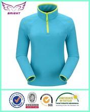 winter thickness OEM Women Half Zip Fleece Jacket